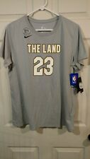 Nike LeBron James The Land T Shirt Women's Size Xl Aa2751 010 *New*