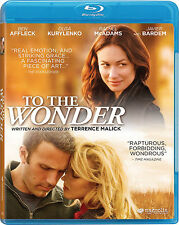 TO THE WONDER Movie on a BLUE-RAY DVD with BEN AFFLECK & RACHEL McADAMS Romance!