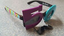 50 Fifty Sun Staches Colorful Goofy Costume Sunglasses with hanging mustache