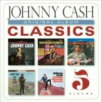 Johnny Cash - Original Album Classics [New & Sealed] 5 CD Pack