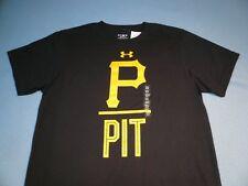 best authentic 35dcb c6c7b Under Armour Pittsburgh Pirates Performance Slash MEDIUM BRAND NEW shirt  MLB UA