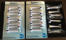 Dentalux Professional Care Replacement Toothbrush Heads Set Of 22