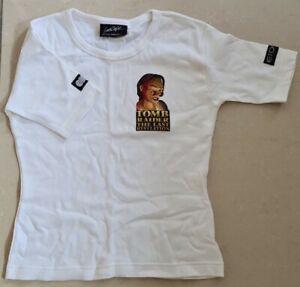 Tomb Raider Lara Croft Ladies Official Core Eidos T-Shirt Unworn