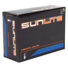 Pair of Sunlite Bicycle Inner Tubes 650 x18-23c 60mm Presta