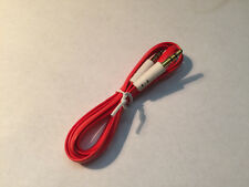 3.5mm Auxiliary AUX Male to Male Stereo Audio Cable 3FT for PC iPod MP3 CAR Red
