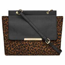 Lipsy Leopard-Print Handbag - Black/Animal print - Brand New - RRP £35