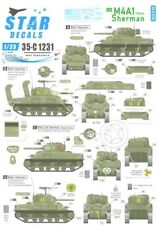 Star Decals 1/35 M4A1 75mm Sherman Tank in Normandy & France 1944