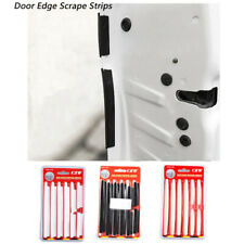 New Set Car Auto Door Side Edge Scrape Strips Guard Anti Scratch Cover Protector