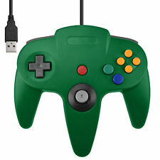 ★★ Manette USB Verte pour PC/Mac - Design N64 Garantie 1an ★★