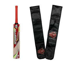 Millennium Leather Ball Cricket Bat Hand Made Kashmir Willow For Age 7 -9 Years