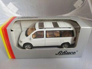MERCEDES BENZ V230 V-KLASSE BUS SCALE 1/43 SCHUCO BULGARIAN BNOS Diecast model