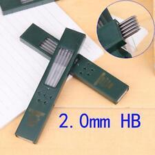 2B HB Schwarz 2.0mm Druckbleistiftmine Refill 120mm kostenloser Versand!