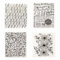 Plastic Embossing Folder Scrapbook DIY Album Photo Template Craft Card Decor