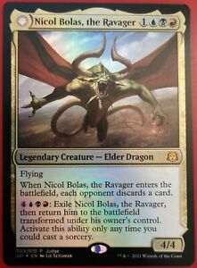 MTG Foil Nicol Bolas, the Ravager (NM) Judge Promo