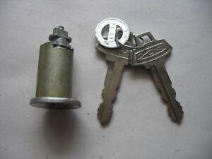 NOS Vintage Original Door Lock w logo key  Ford Fairlane