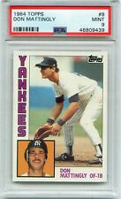 1984 Topps #8 Don Mattingly PSA 9 MINT New York Yankees ROOKIE SUPERSTAR!!