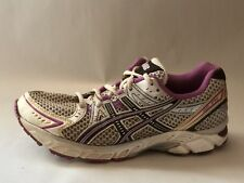 Asics Women 9 M Gel 1170 Duomax Running Training Shoe Sneaker T1P5N White Purple
