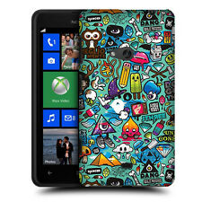 CUSTODIA COVER per NOKIA LUMIA 625 N625 TPU BACK CASE STICKERS