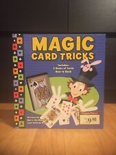 Magic Card Tricks Childrens Kit Brand New. Includes Book And 3 Card Decks.