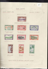 Mint Hinged Pacific Stamps