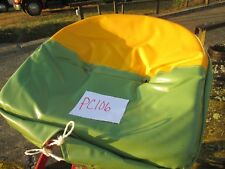 "John Deere Tractor Seat Pan Cushion 21"""