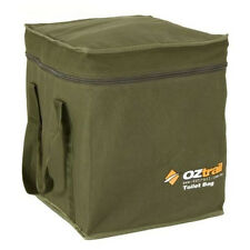OZTRAIL CANVAS PORTABLE TOILET CARRY BAG (33x36x38cm)