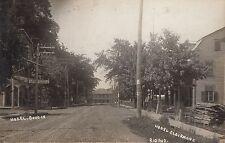 Hôtels Clairmont & Ed Boutin rue St Jean Baptiste RIGAUD Quebec 1904-20s RPPC