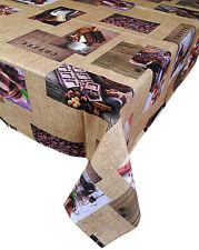 Tovaglia da Tavola 6 posti Misto cotone Joker Disegno Floreale Stampa Digitale