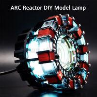 1:1 DIY ARC REACTOR Model Kit LED Chest Light Lamp USB Powered Movie Prop