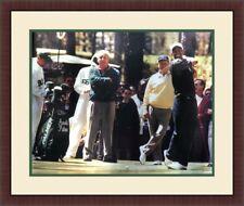 Arnold Palmer Jack Nicklaus & Tiger Woods PGA 16x20 Custom Framed FREE SHIPPING