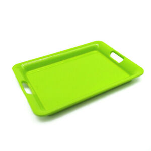 Dollhouse Kitchen Cookware Tray Salver 1:6 Miniature Accessories Green