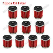 10x Oil Filter For Yamaha XT250 YBR250 YZ250 WR250F WR YZ 450F YFZ 450 450R 450X