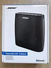 Bose SoundLink Colour Bluetooth Speaker, Slim, Light - Black - New, Sealed