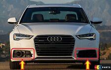 Neuf Véritable Audi A6 C7 2015-2017 S-LINE Pare Choc avant Bas Grille