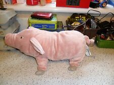 IKEA KNORRIG / Pig Soft Toy Plush Pink & Cuddly
