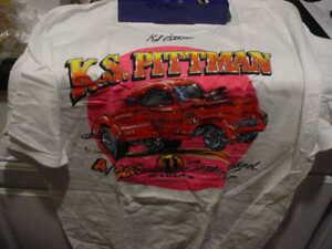 HANES, BEEFY T-SHIRT------K S PITTMAN, AUTOGRAPHED
