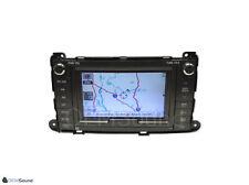2011-2014 Toyota Sienna JBL GPS Navigation Radio CD Player Touchscreen E7027 OEM