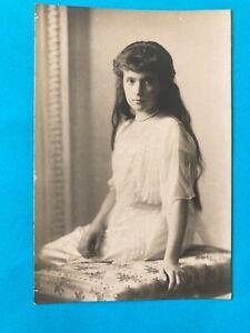Russia , Grand Duchess Anastasia Russian Red Cross 1915