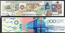Finland - 1985 Banknote printing centenary - Mi. MH 15 MNH