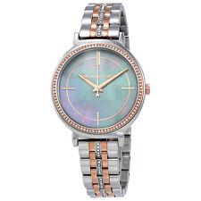 Michael Kors Cinthia Grey Mother of Pearl Ladies Watch MK3642