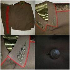 Soviet Russian Army General field  uniform tunic pants 1980th USSR
