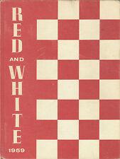 REPRINT: 1959 Lowell High School Yearbook - San Francisco CA