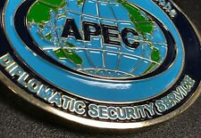 Diplomatic Security Service DSS 2011 Hawaii APEC Challenge Coin FBI USSS MSG