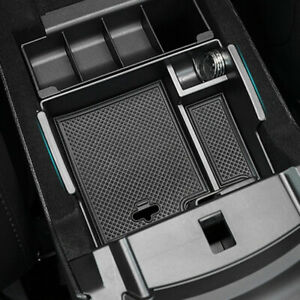 Armrest Storage Box Tray For Ford Explorer 2011-2018 Center Console Container
