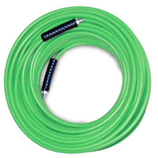 More details for high heat™ carpet cleaning solution hose - 25ft - 300f - green