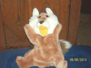 AMERICA WEGO 2072 FULL BODY RED FOX HAND PUPPET PLUSH