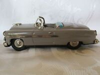Vintage Ford Convertible Tin Toy Car Friction Toy Car 1950s ? Does Not Wind