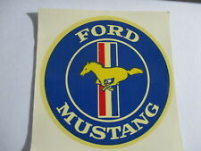 Ford Mustang Decal Vintage Original 3 1/4 x 3 1/2 inches