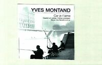 CD / YVES MONTAND / CAR JE T'AIME