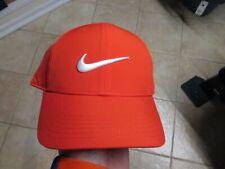 Nike (Legacy 91) Youth/Unisex (Adjustable) Hat Nwt $20 Red W/White Swoosh Soft!